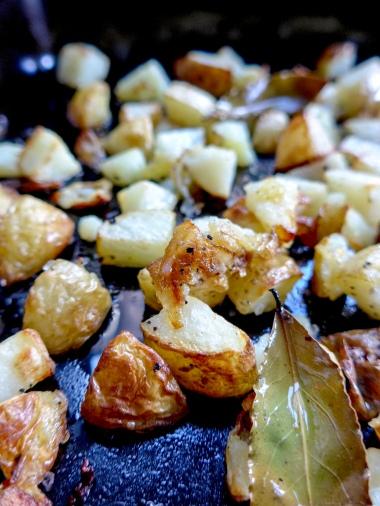 Patatas Bravas tapas on allthatshecraves.com