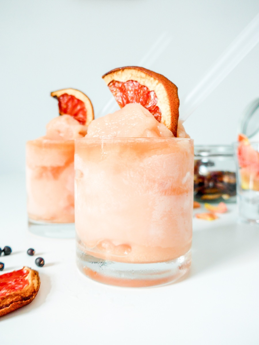 Gin and Grapefruit Grown-Up Slushes